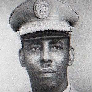 Siad Barre Headshot