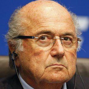 Sepp Blatter 1 of 3