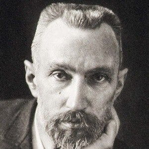 Pierre Curie Headshot