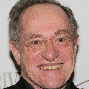 Alan Dershowitz Headshot