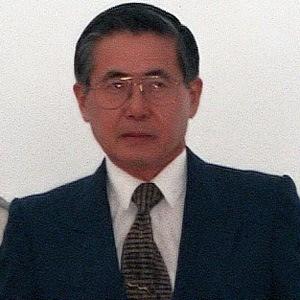 Alberto Fujimori Headshot