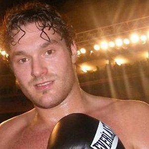 Tyson Fury Headshot