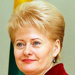 Dalia Grybauskaite Headshot