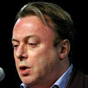 Christopher Hitchens Headshot