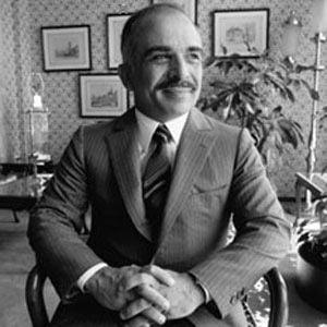 King Hussein of Jordan Headshot