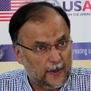 Ahsan Iqbal Headshot
