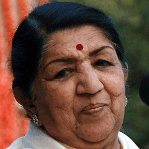 Lata Mangeshkar Headshot