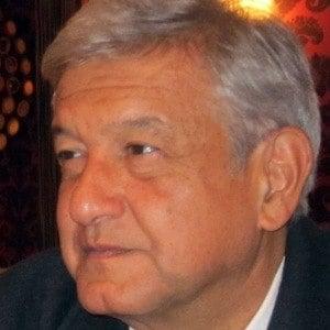 Andrés Manuel López Obrador Headshot