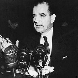 a study of the life of senator joseph mccarthy Beltway insiders guessed that the smack-addicted senator's bullying threats and bombastic appeals to patriotism—not to mention the fact that he had died in office—pointed to the late joseph mccarthy.