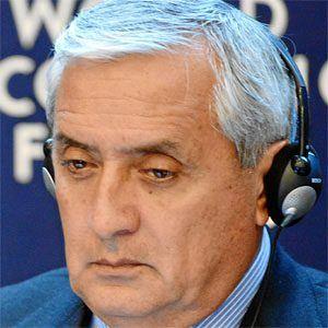 Otto Pérez Molina Headshot