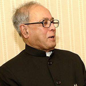 Pranab Mukherjee Headshot