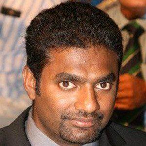 Muttiah Muralitharan Headshot