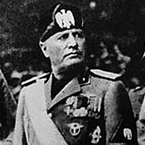 Benito Mussolini 1 of 4