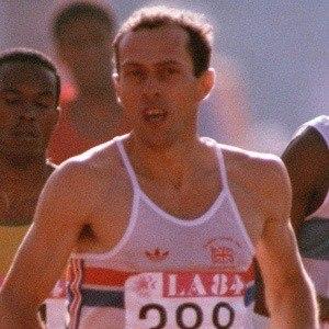 Steve Ovett Headshot