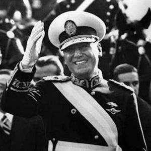 Juan Domingo Perón Headshot