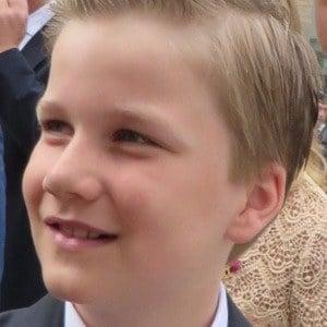 Prince Gabriel of Belgium Headshot