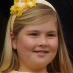 Catharina-Amalia, Princess of Orange Headshot