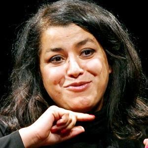 Marjane Satrapi Headshot