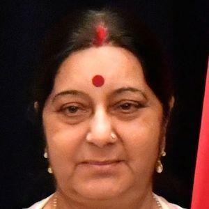 Sushma Swaraj Headshot