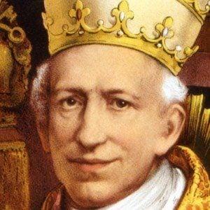Pope Leo XIII Headshot