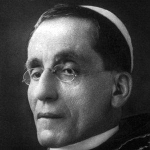 Pope Benedict XV Headshot