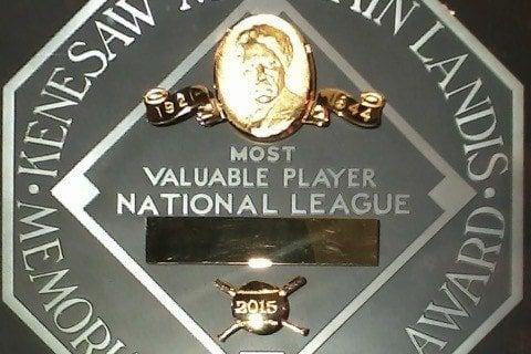 MLB NL MVPs