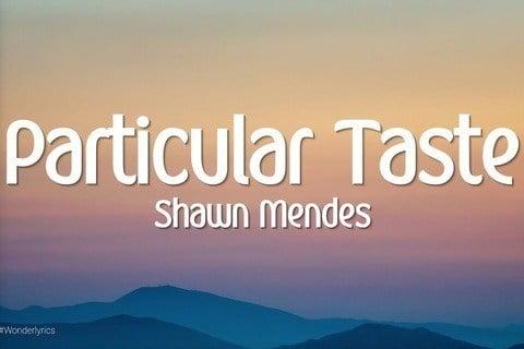 Particular Taste