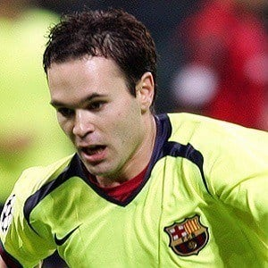 Andres Iniesta 4 of 7
