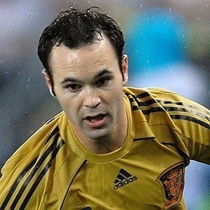Andres Iniesta 5 of 7
