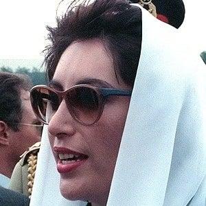 Benazir Bhutto 2 of 2