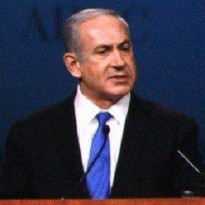 Benjamin Netanyahu 2 of 3