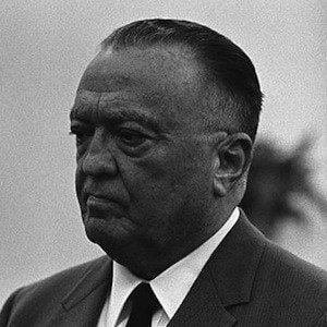 J Edgar Hoover 2 of 4
