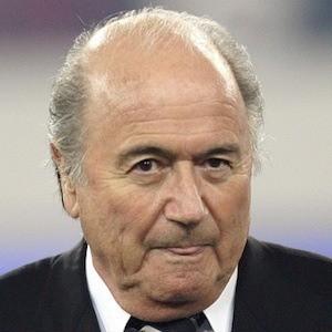 Sepp Blatter 3 of 3