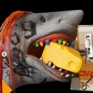 Shark Puppet Headshot 7 of 10
